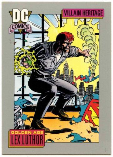 Lex Luthor #25 Impel 1991 DC Comics Trade Card C289