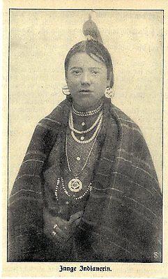 Zwei Indianerhäuptlinge ( Cree Kanada ) Historische Aufnahme Von 1912