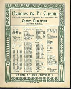 Chopin-034-Scherzo-Op-31-in-B-moll-uebergrosse-alte-Noten