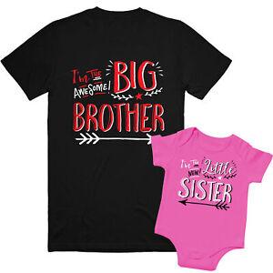 Sister Shirts, Brother And Sister Matching Outfits, Sibling Shirts