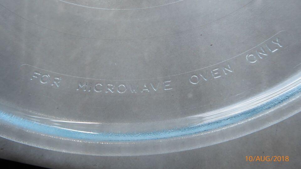 Andet, andet mærke glas tallerken til bosch mikroovn, b: 31
