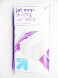 Up & Up Wet Jet Mop Cleaning Pad Refills - 17ct