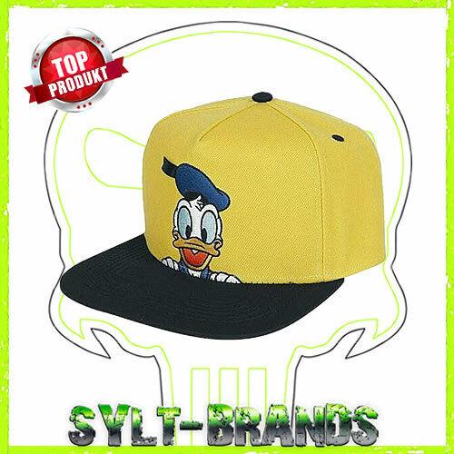 Donald Duck Disney Baseball Cap Berretto Snapback Caps Hip Hop TAPPI basecaps hats