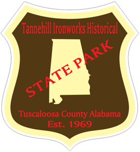Brierfield Ironworks Historical Alabama State Park Sticker R6851 YOU CHOOSE SIZE