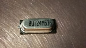 2-Pieces-24-576-Mhz-HC49-SMD-Crystal-Oscillator-24-576M-BQT24M576-24M576-USA