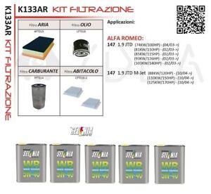 46794403 Filtro Aria Originale Fiat Alfa Romeo 147 1.9 JTD
