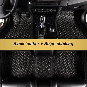 Details About Floor Mats For 2015 2017 Ford F150 Supercrew Bucket Liner Carpet All Weather Set