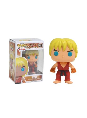 Ken de Street Fighter officiellement licencié Funko POP! Figurine en vinyle 138 neuf