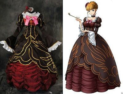 H-177 Umineko no Naku Koro ni Beatrice Kleid dress Cosplay Kostüm costume n. Maß