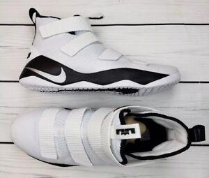 f47d49a6479b Men s Nike Lebron Soldier XI 11 TB Promo Shoe White Black 943155-106 ...