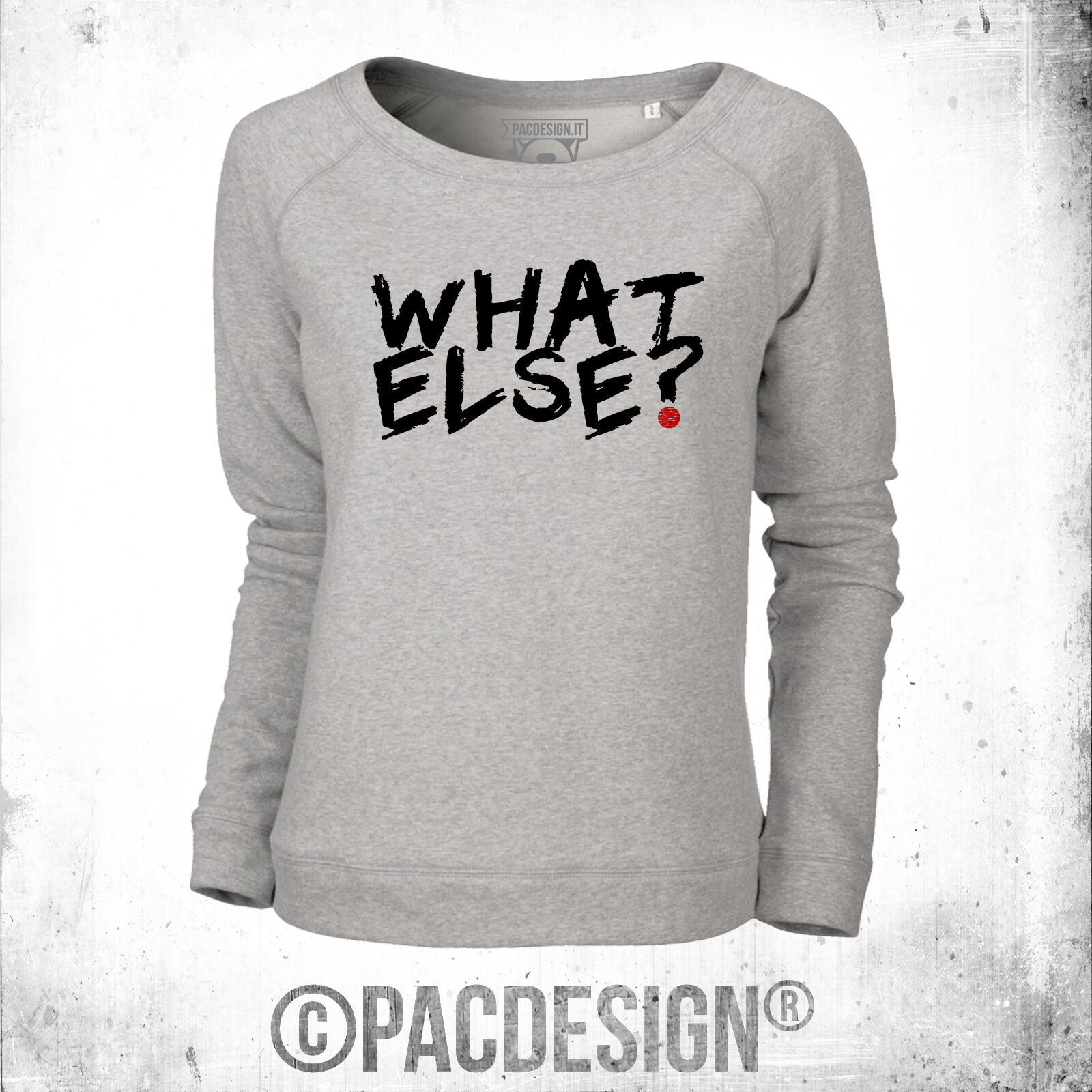 FELPA women WORDS WHAT WHAT WHAT ELSE WHY SO VINTAGE BD0015A 7feed1