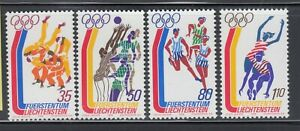 Liechtenstein-1976-Sc-591-594-Olympics-Judo-complete-mint-never-hinged