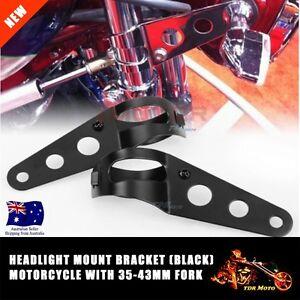 Headlight-Mount-Bracket-Holder-35mm-43mm-Fork-Tubes-for-Kawasaki-Suzuki-Yamaha
