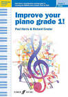 Improve Your Piano Grade 1 by Richard Crozier, Paul Harris (Paperback, 2014)