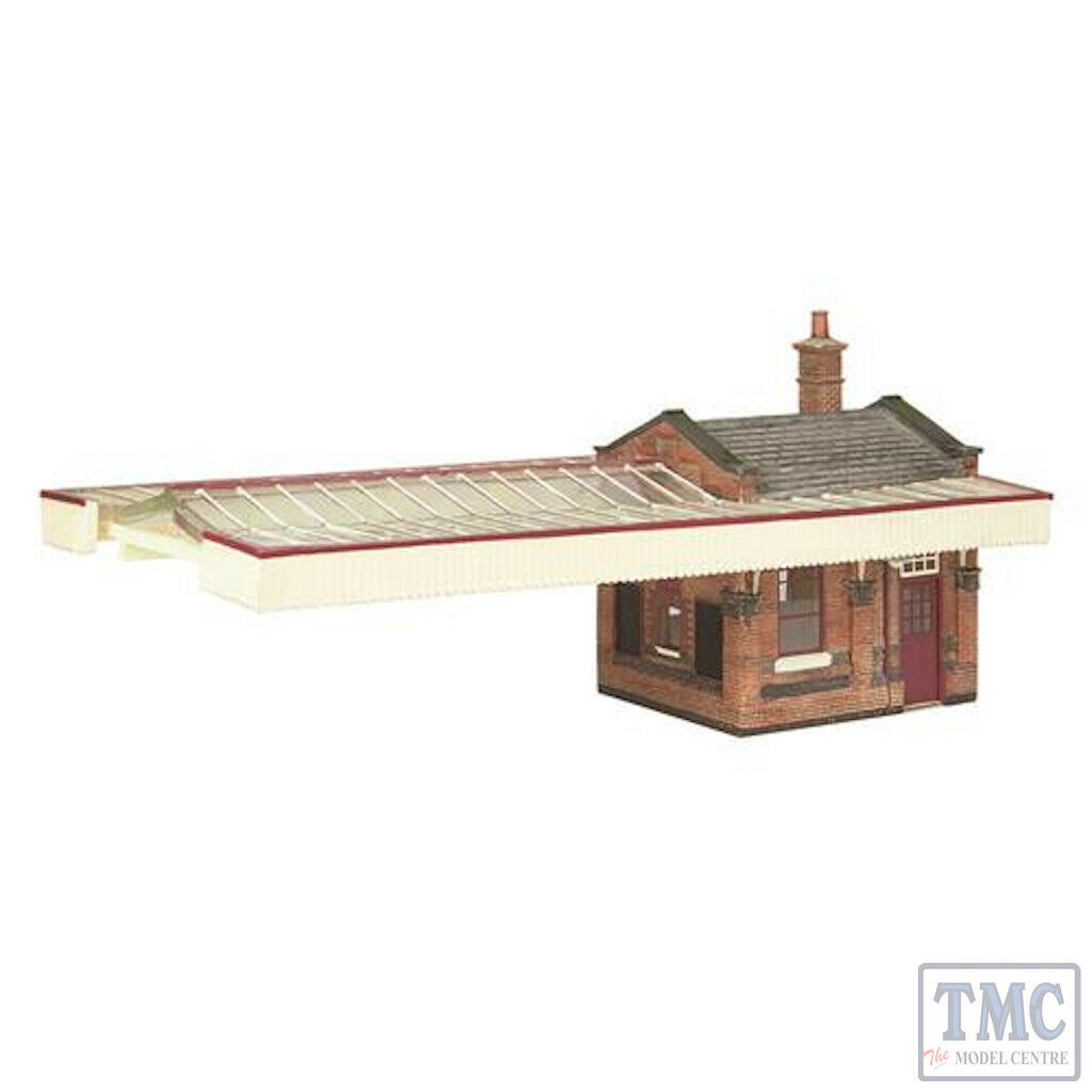 44117C Scenecraft OO gauge Great Central Station Boore office wCanopy