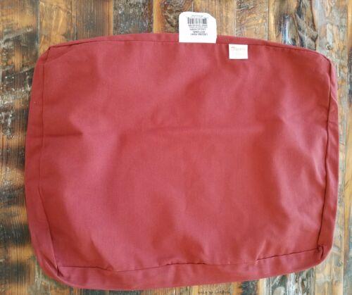 "2 PC Sunbrella Laguna Point Canvas Henna Pillow//Cushion Slipcover 23/"" FREE SHIP"