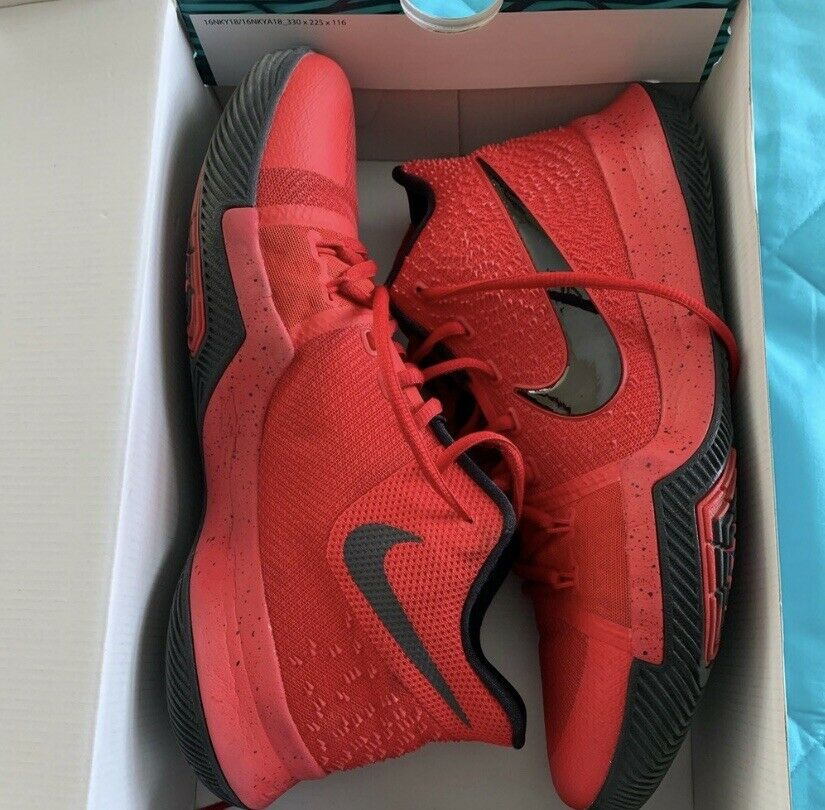 reputable site 952ac 5017e Nike Kyrie 3 Candy Apple Three Three Three Point Contest ...