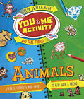 You and Me Activity: Animals by Moira Butterfield (Spiral bound, 2016)