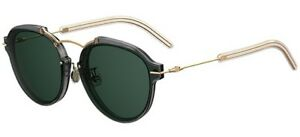 9ff35a415c6 Image is loading Christian-Dior-ECLAT-grey-gold-green-FT3-QT-