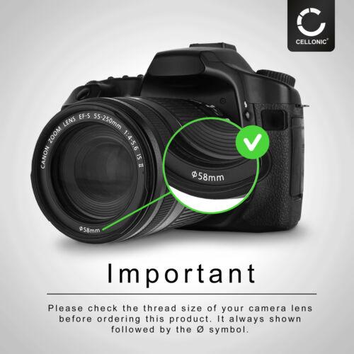 5-6.3 g ed VR Filtro de estrella 6 pt 58mm para Nikon AF-P DX Nikkor 70-300 mm 1:4