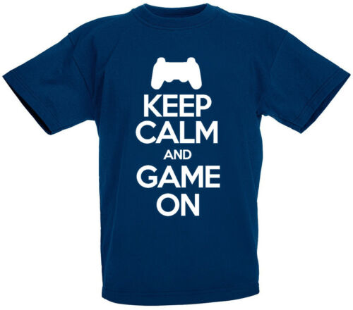 son gift ideas Keep Calm Game On T-Shirt Funny Gamer Birthday gifts for boys
