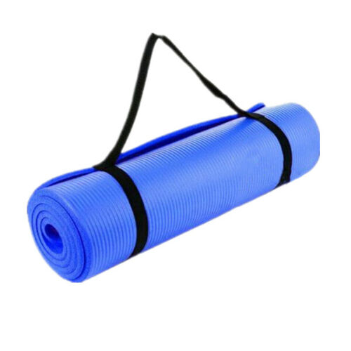 Yoga Mat Gym Fitness Exercise Non-slip Pilates Physio Mats 10MM Thick Large NBR