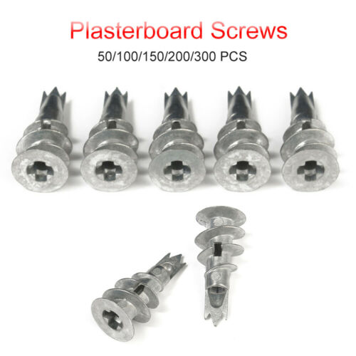 Plasterboard Fixing Self Drill Cavity Wall Speed Anchor Scews 50//100//150//200//300