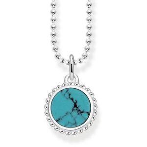 Thomas-Sabo-TKE1762-Riviera-Turquoise-Necklace-Length-40-45cm-RRP-179