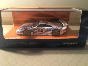 minichamps-1-43-Porsche-911-GT1-n-25-2nd-Le-Mans-LM-1996-limited-Edition-999pcs