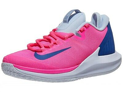 WOMEN/'S NIKE COURT AIR ZOOM ZERO HC PINK BLAST//INDIGO TENNIS SHOES AA8022-600