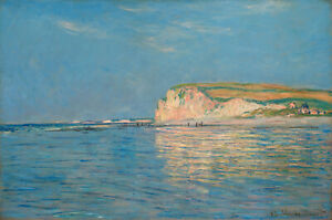 art-painting-claude-monte-vintage-oil-classic-print-canvas-low-tide-France