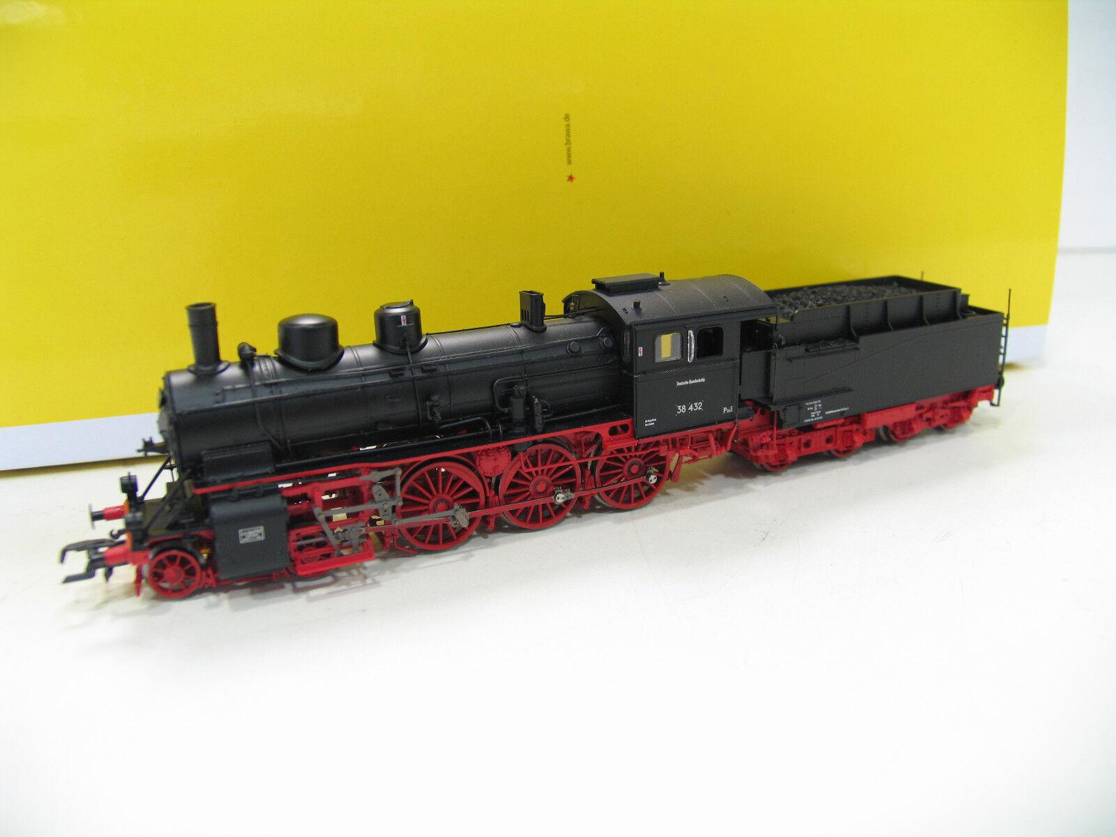 Brawa 40656 máquina de vapor br 38 432 de la DB digital Sound lk346