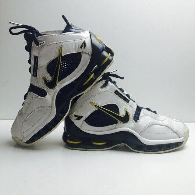 2004 NIKE SHOX JERMAINE O'NEAL PE Basketball shoes Mens 8.5 Pacers 309267 140