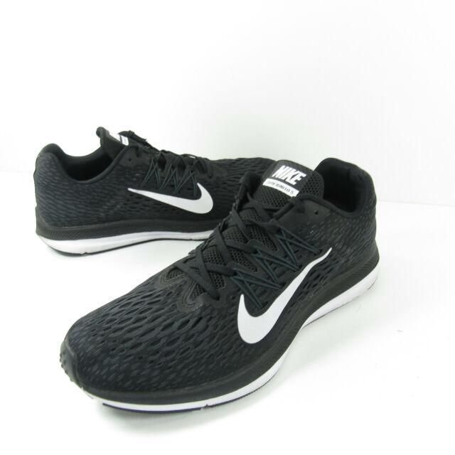 Nike Zoom Winflo 5 Men's Size 11 Running Shoes Black White AA7406 001