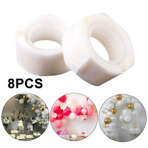 8-Rouleau-100pcs-Ruban-Adhesif-Double-Face-Colle-Pois-Autocollant-DIY-Air-Ballon
