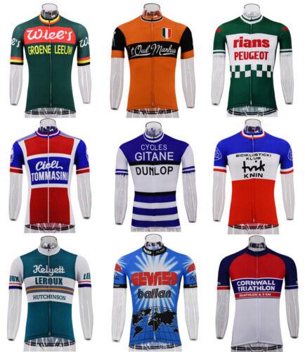 Retro Cycling Jersey