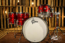 Gretsch Brooklyn Red Oyster 22, 12, 14, 16, 5x14 Shell Pack Drum Set