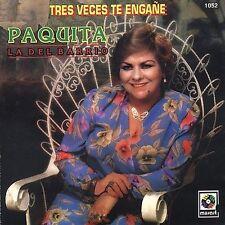 Paquita La Del Barrio Tres Veces Te Engane CD