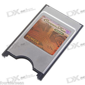 PCMCIA-PC-CARD-to-COMPACT-FLASH-CF-LAPTOP-ADAPTER-CADDY-for-FANTOM-SAMPLERS-NEW