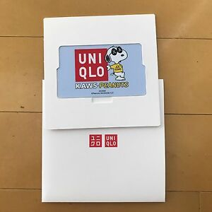 Uniqlo X Kaws Peanuts Gift Card Japan Companion Originalfake Snoopy
