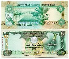 UNITED ARAB EMIRATES 10 DIRHAMS 2013 P-27b UNC