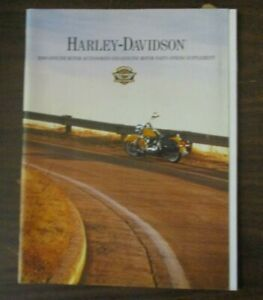 Details about HARLEY DAVIDSON CATALOG SUPPLEMENT SPRING 2000 MOTORCYCLE  BIKE ACCESSORIES PARTS