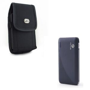 Rugged-Case-Belt-Clip-Holster-w-10000mAh-Power-Bank-Charger-X2Q-for-Cell-Phones