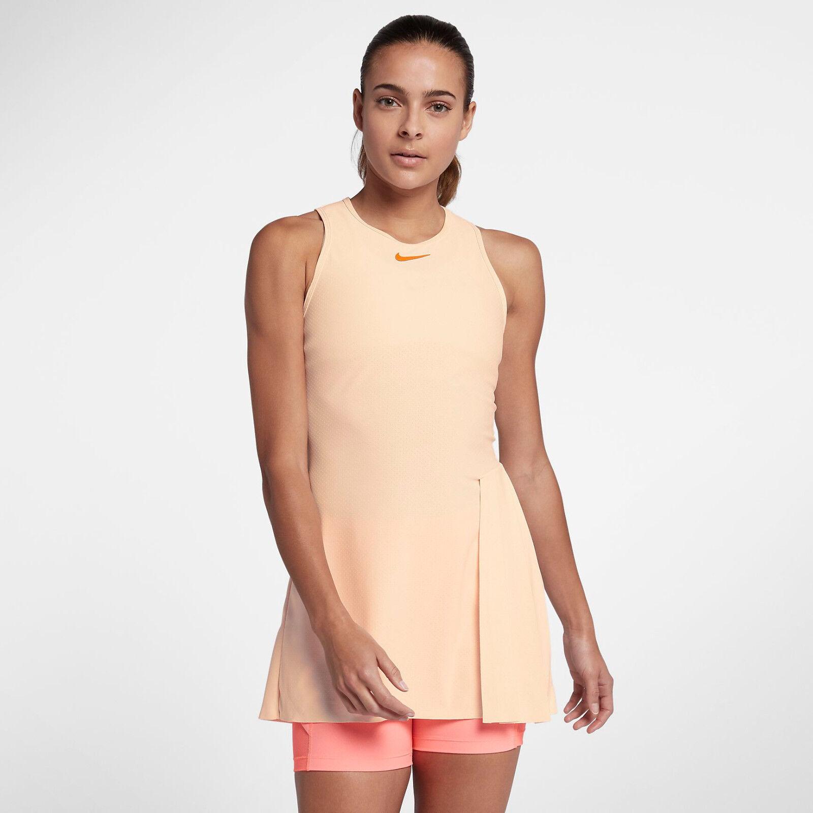 Nike Nike Court Techknit Cool Slam Donna Abito da Tennis M Guava Ghiaccio