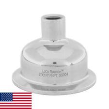 2 X 14 Fnpt Tri Clamp Hemispherical Bowl Reducer Ss304 Loco Science