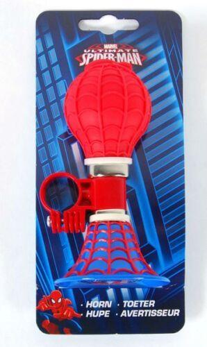 Disney Spiderman Marvel Kinder Fahrrad Klingel Fahrradhupe Ball Lenker Hupe