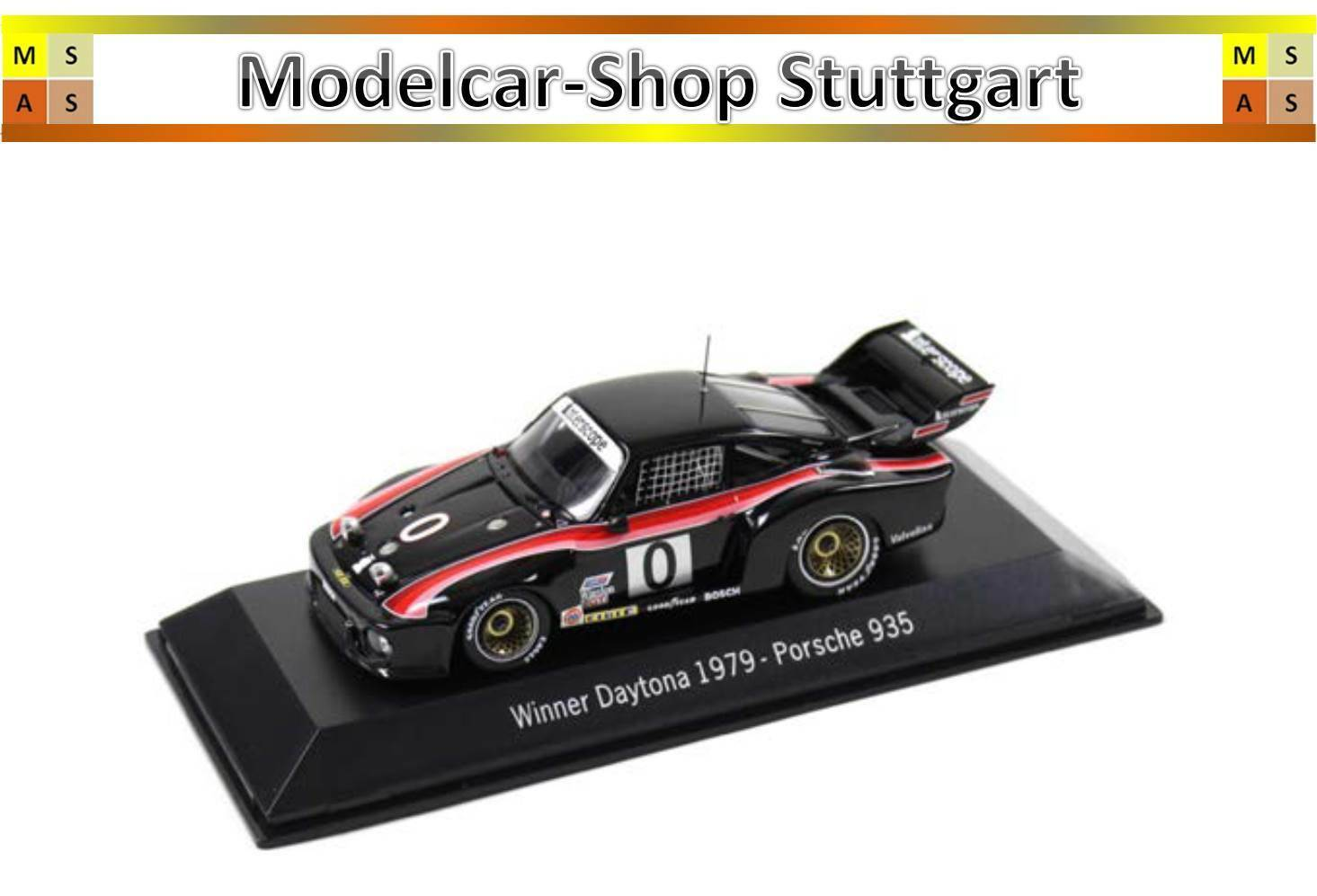 Porsche 935 - Winner Daytona 1979 - Spark 1 43 - map02027914 - BRAND NEW