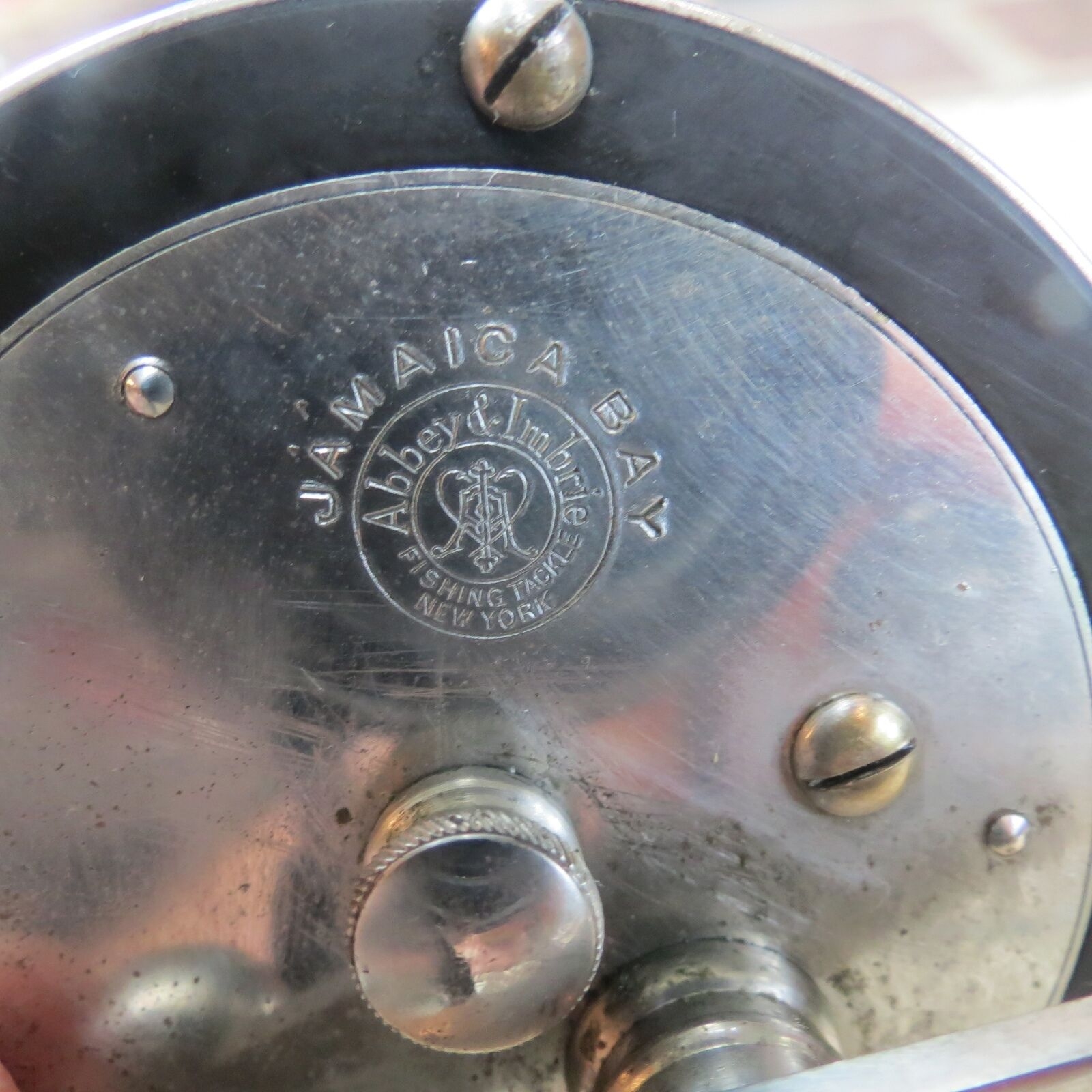 Abbey & Imbrie Jamaica Bay fishing reel (lot 7286)