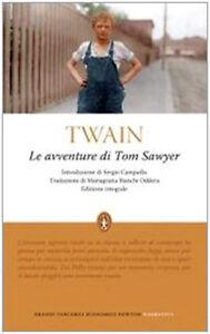 Le-avventure-di-Tom-Sawyer-Mark-Twain-Libro-Nuovo-in-offerta