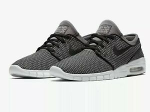 new style 548ee 4274d Image is loading Nike-SB-Stefan-Janoski-Max-Skate-Shoes-Black-